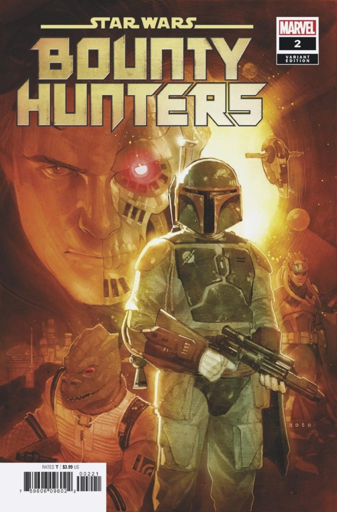 Bounty Hunters #2 (Phil Noto Variant Cover) (25.03.2020)