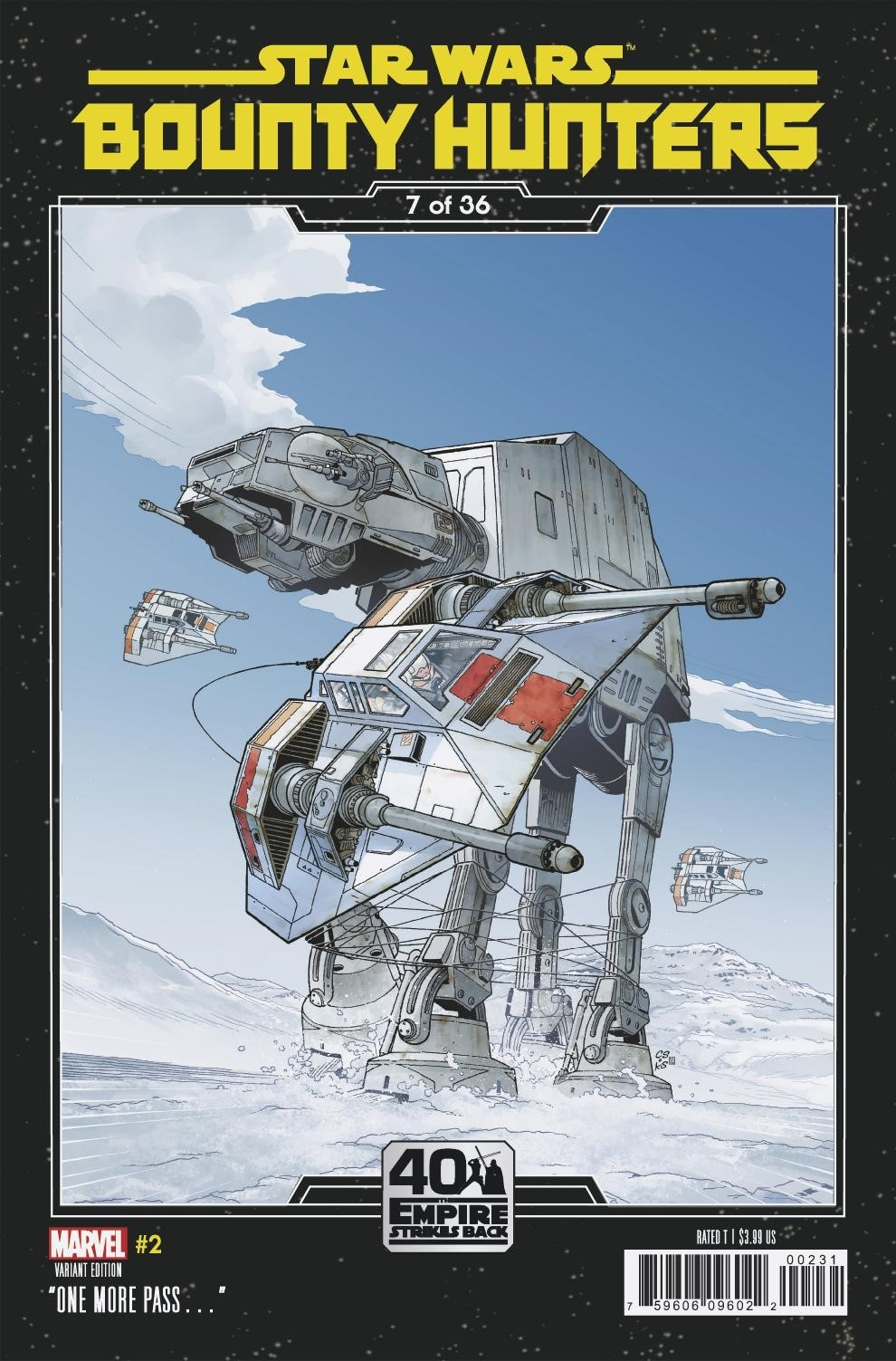 Bounty Hunters #2 (Chris Sprouse The Empire Strikes Back Variant Cover 7 of 36) (25.03.2020)