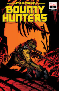 Bounty Hunters #3 (Michael Golden Variant Cover) (08.04.2020)