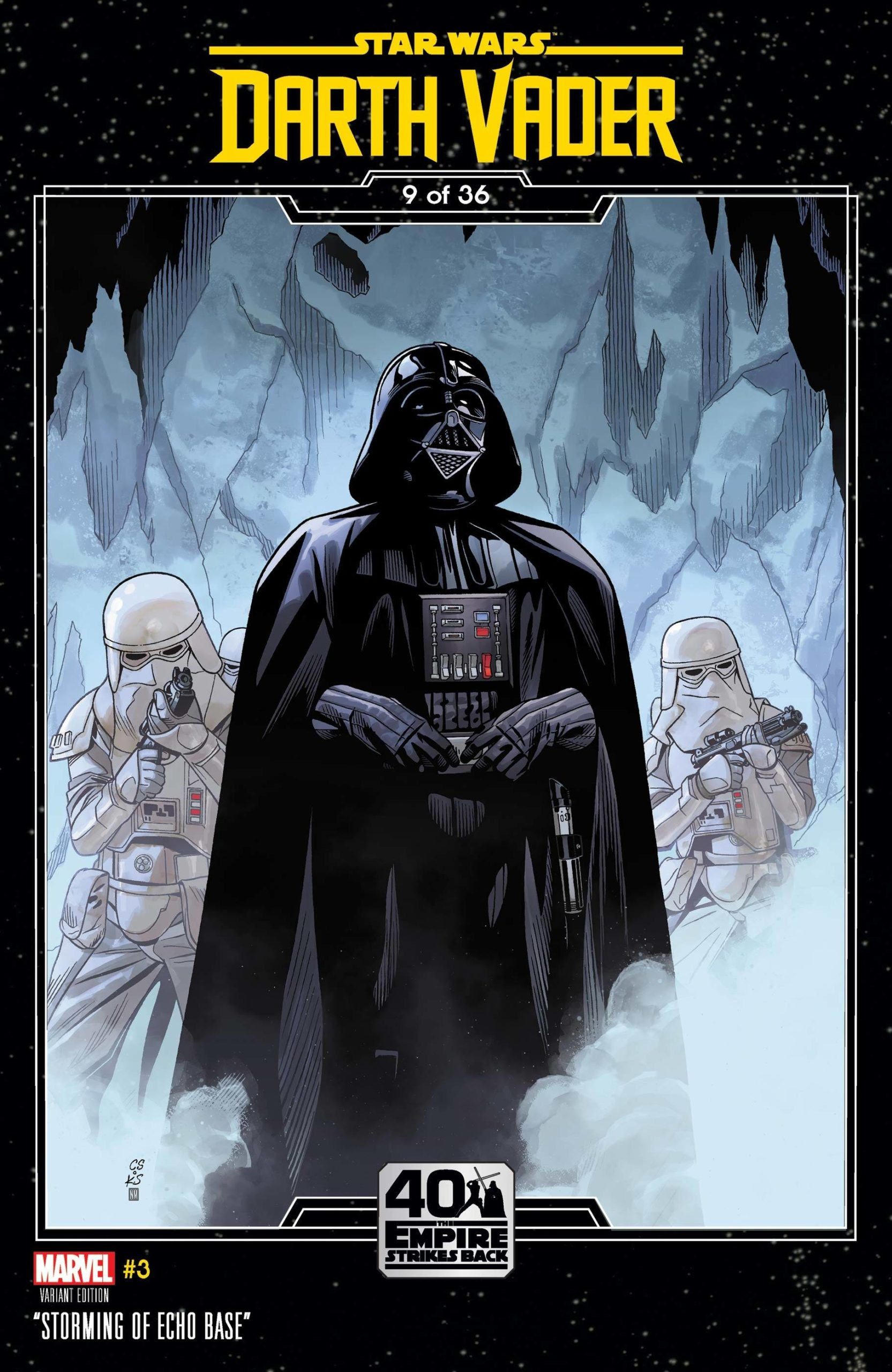 Darth Vader #3 (Chris Sprouse The Empire Strikes Back Variant Cover 9 of 36) (29.07.2020)
