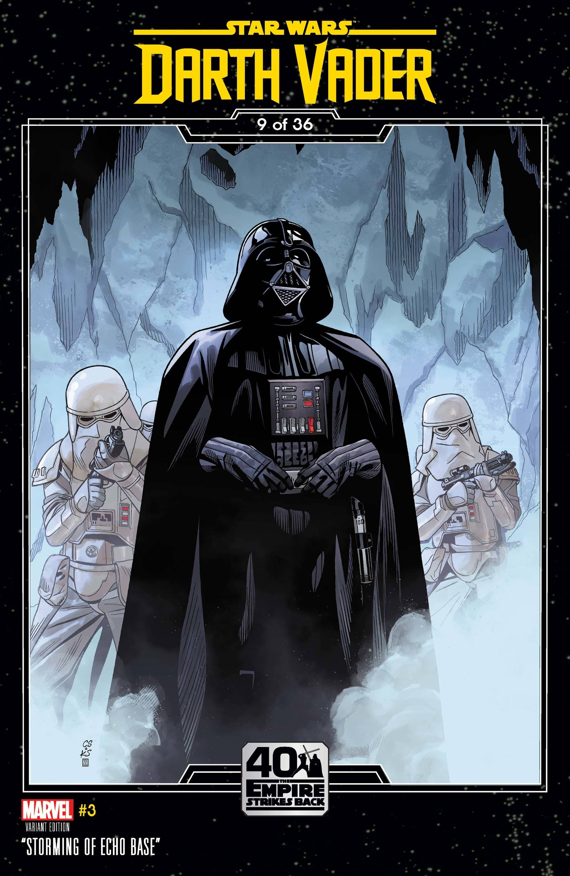 Darth Vader #3 (Chris Sprouse The Empire Strikes Back Variant Cover) (15.04.2020)