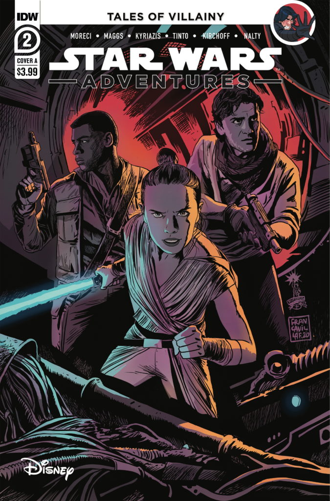 Star Wars Adventures #2 (Cover A by Francesco Francavilla) (21.06.2020)