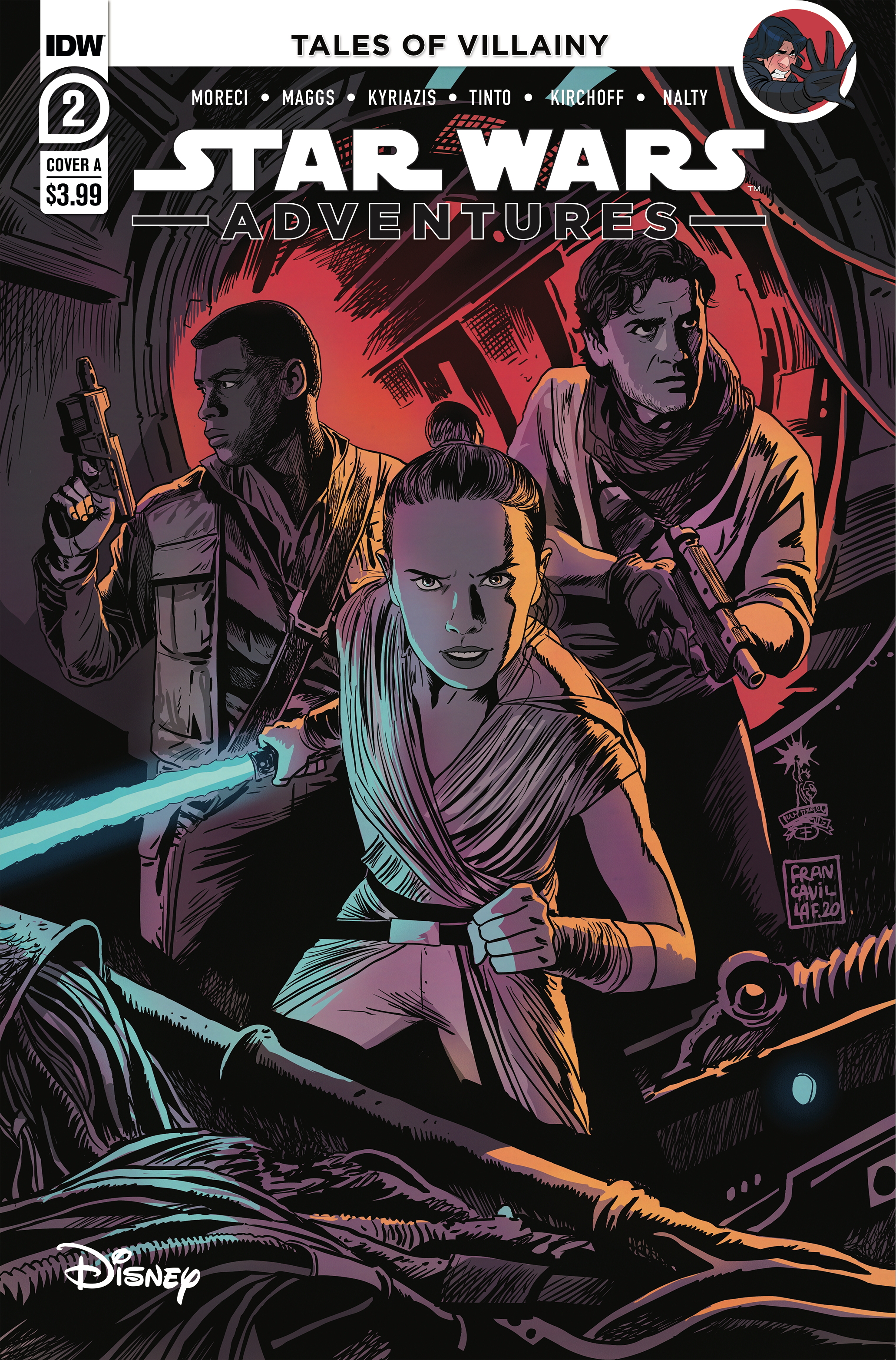 Star Wars Adventures #2 (Cover A by Francesco Francavilla) (17.06.2020)