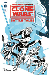 The Clone Wars - Battle Tales #1 (Derek Charm Variant Cover) (20.05.2020)
