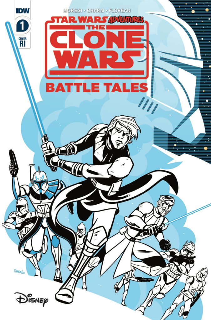 The Clone Wars - Battle Tales #1 (Derek Charm Variant Cover) (01.04.2020)