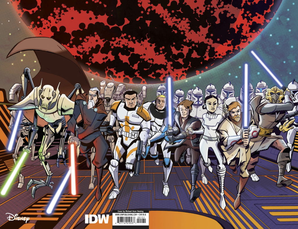 The Clone Wars - Battle Tales #1 (Mike Oeming Variant Cover) (01.04.2020)
