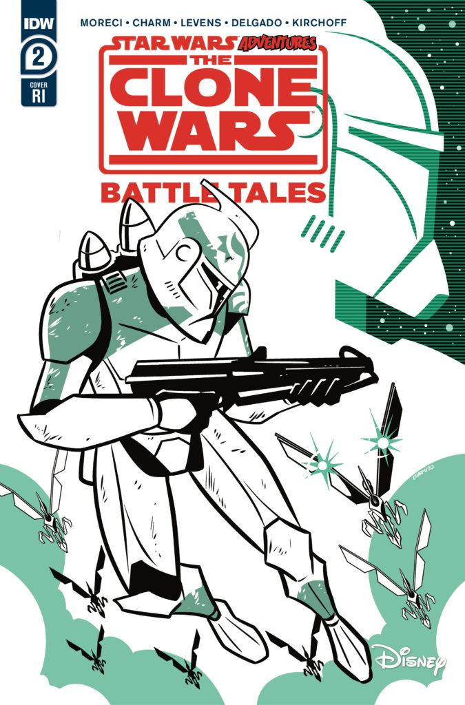 The Clone Wars - Battle Tales #2 (Derek Charm Variant Cover) (08.04.2020)