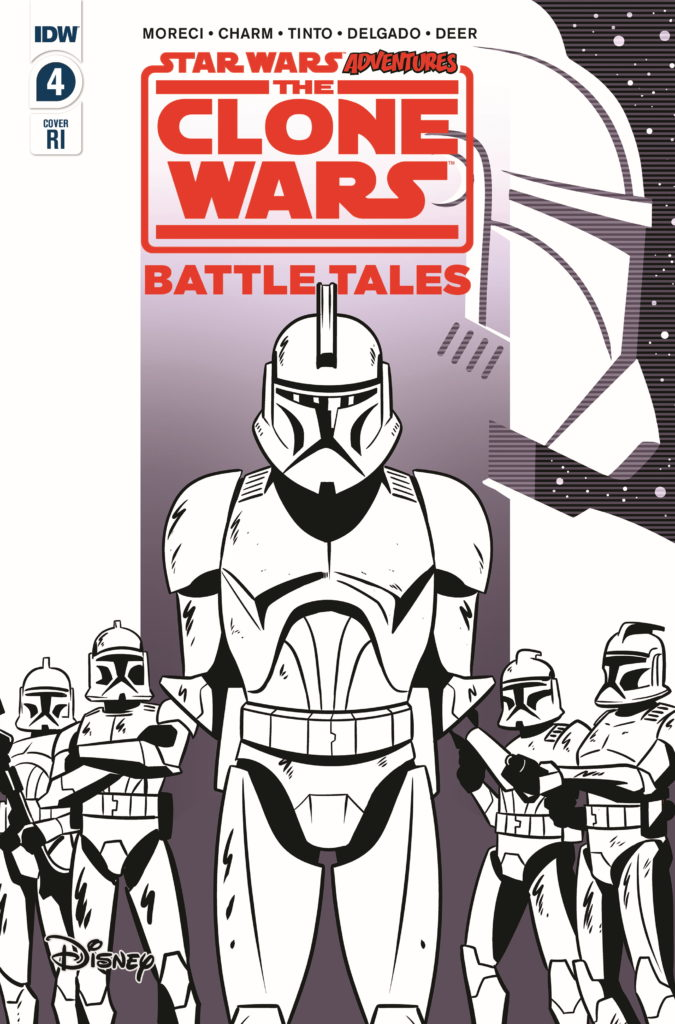 The Clone Wars - Battle Tales #4 (Derek Charm Variant Cover) (22.04.2020)
