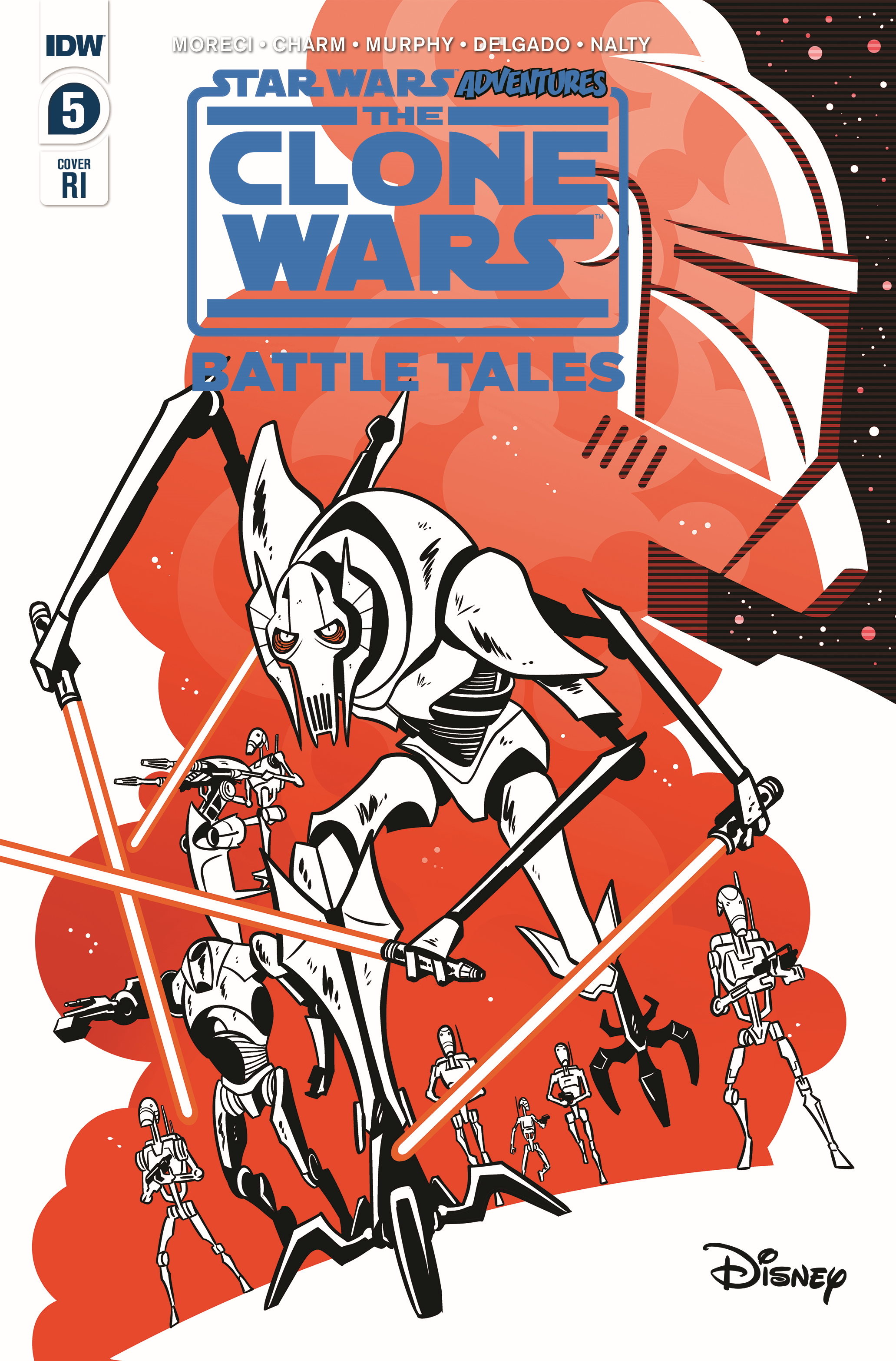 The Clone Wars - Battle Tales #5 (Derek Charm Variant Cover) (29.04.2020)