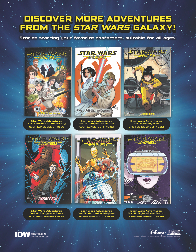 Star Wars Adventures TPB Backlist