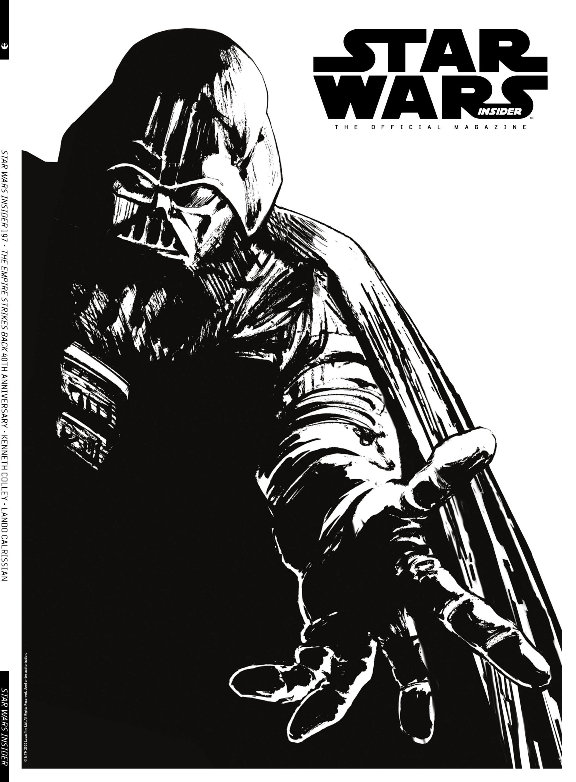 Star Wars Insider #197 (Comic Store Cover) (22.09.2020)