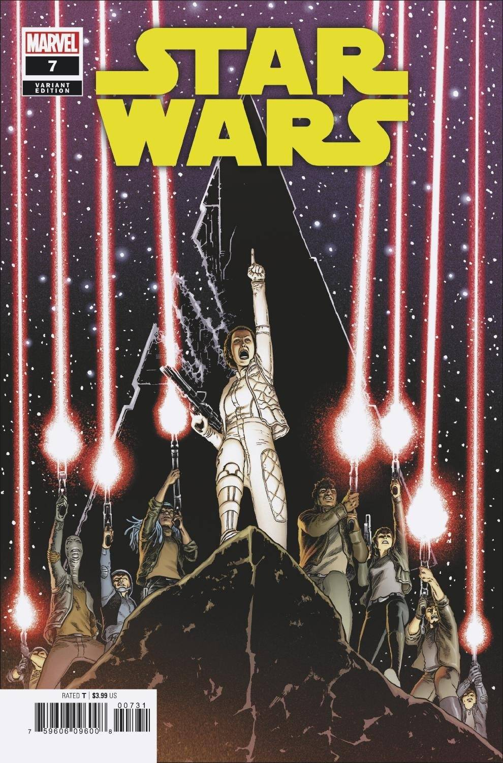 Star Wars #7 (Aaron Kuder Variant Cover) (07.10.2020)