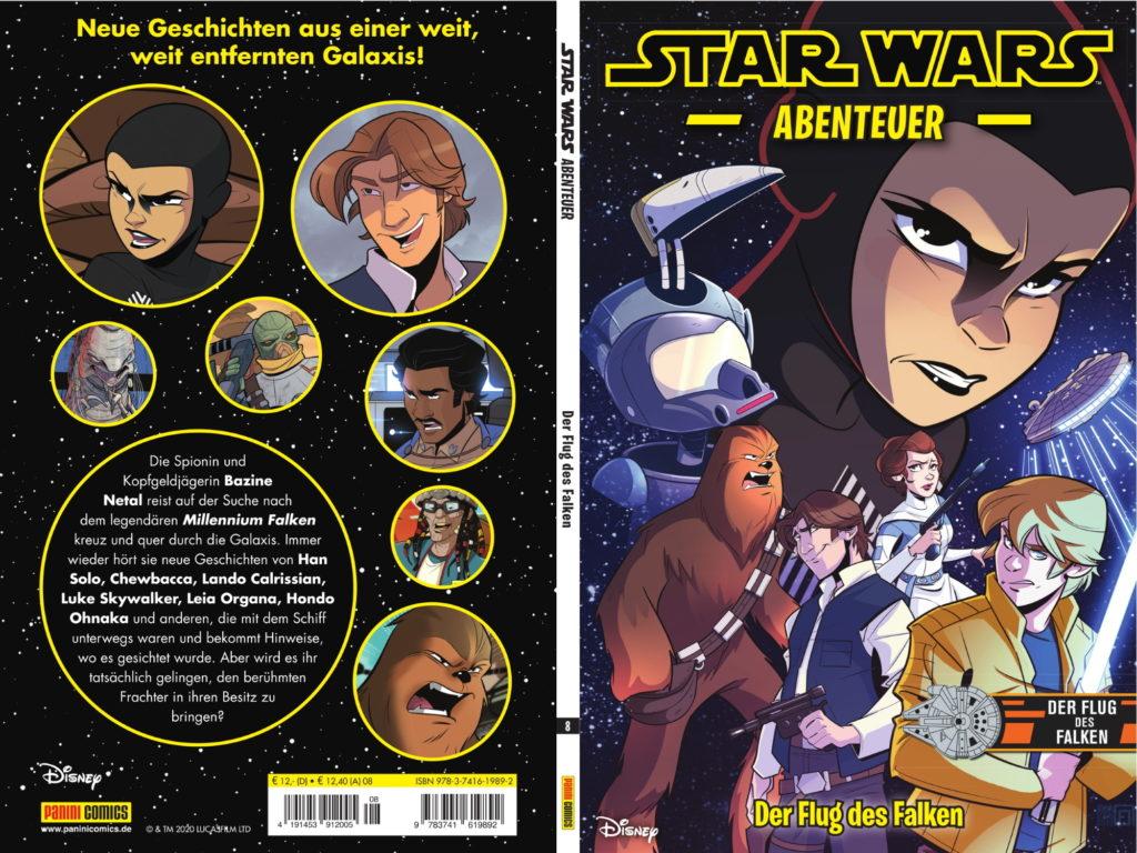 Star Wars Abenteuer, Band 8: Der Flug des Falken (17.11.2020)