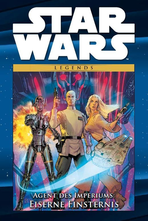 Star Wars Comic-Kollektion, Band 103: Agent des Imperiums: Eiserne Finsternis (08.09.2020)