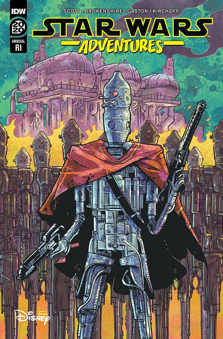Star Wars Adventures Annual 2020 (Nick Brokenshire Variant Cover) (26.08.2020)