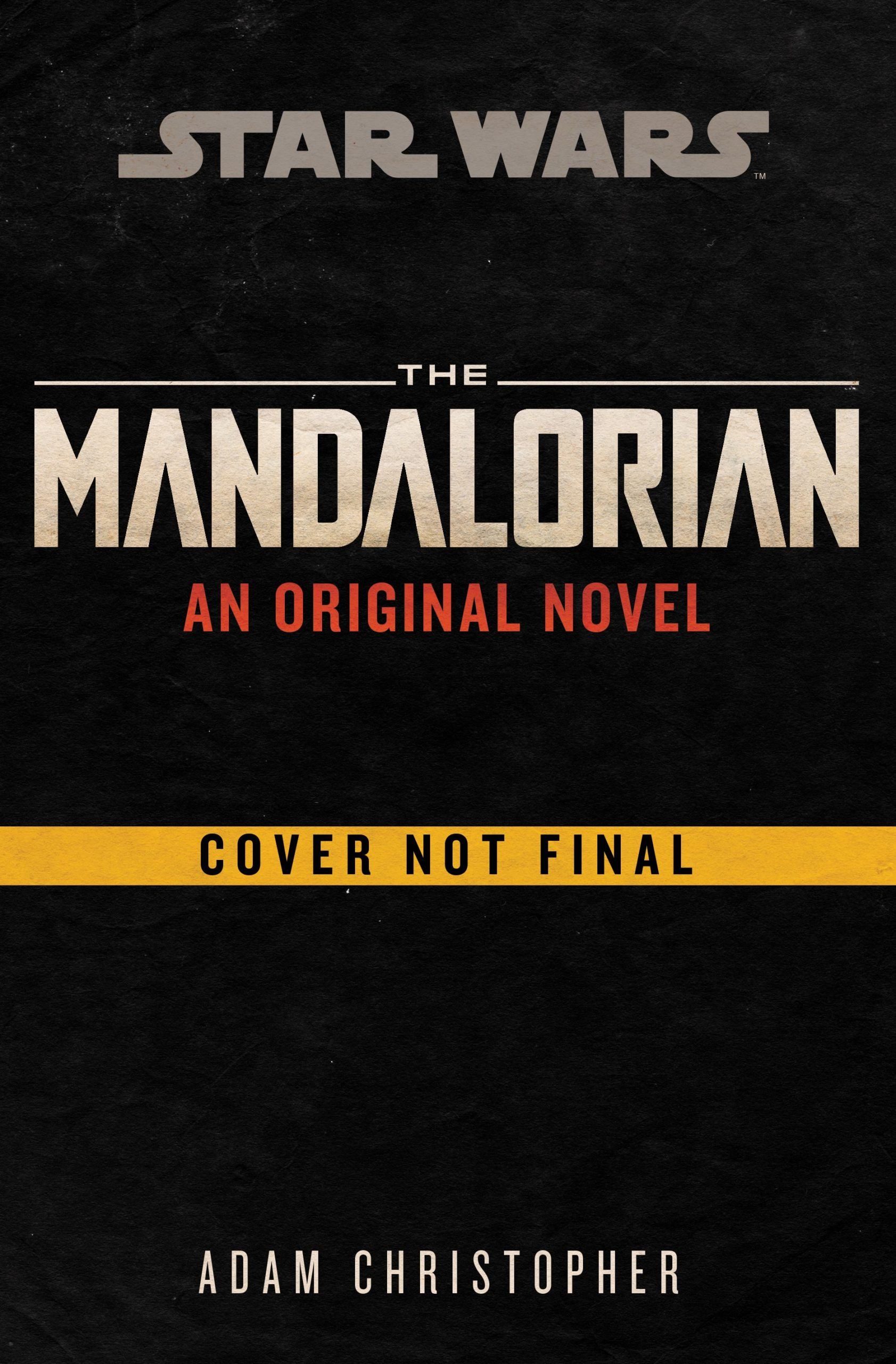 The Mandalorian: An Original Novel (01.12.2020)
