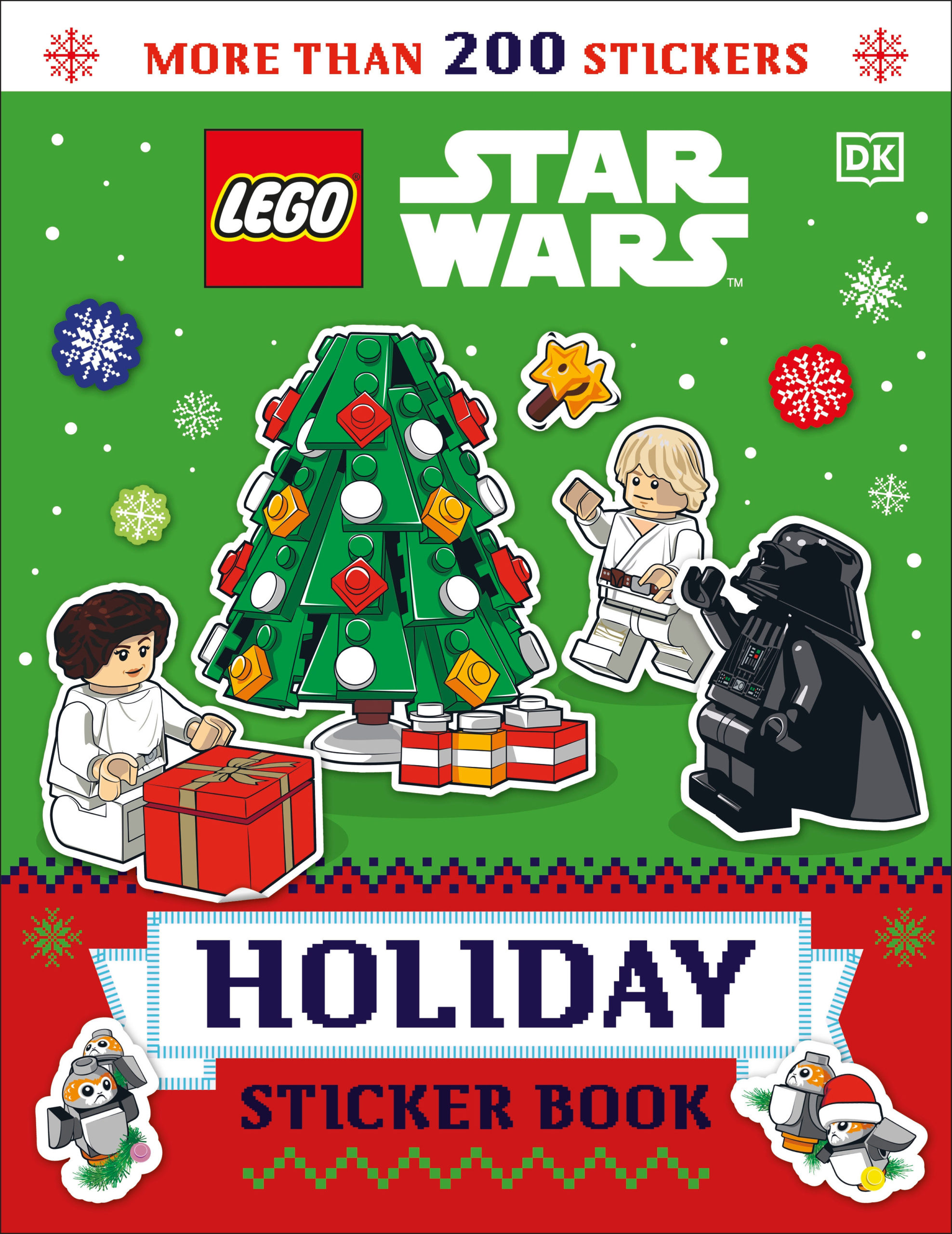 LEGO Star Wars Holiday Sticker Book (06.10.2020)