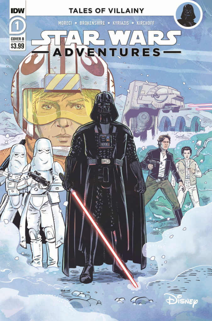 Star Wars Adventures #1 (Cover B by Nick Brokenshire) (16.09.2020)