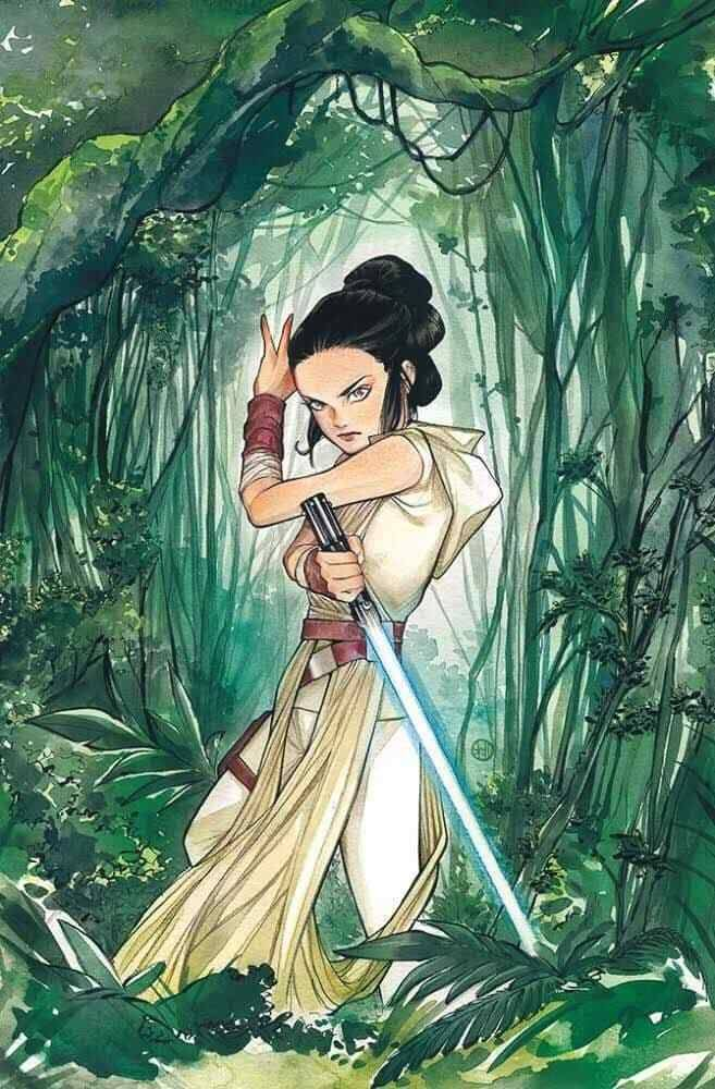 Star Wars Adventures #32 (Peach Momoko Frankie's Comics Virgin Variant Cover) (08.07.2020)