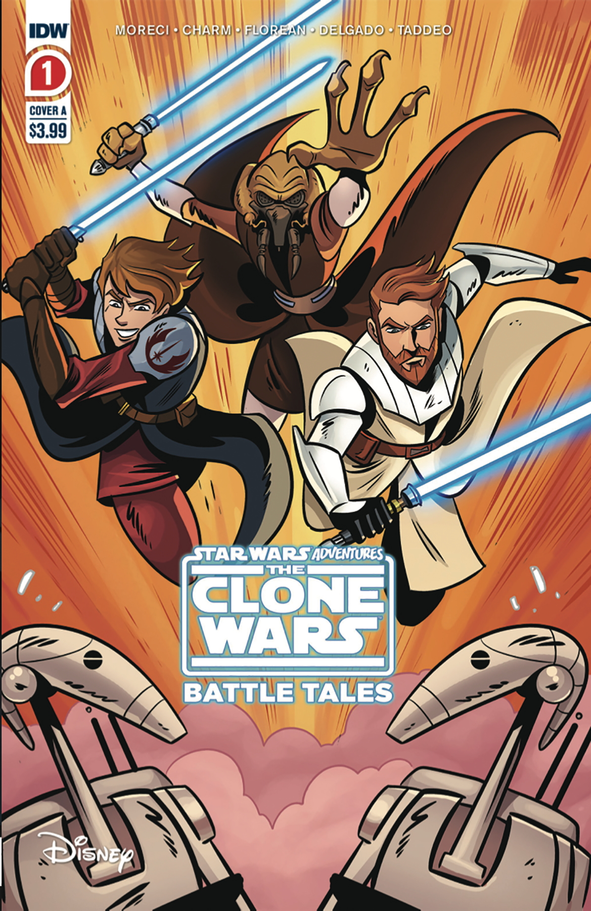 The Clone Wars - Battle Tales #1 (2nd Printing) (29.07.2020)