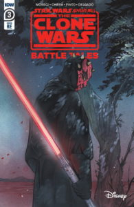 The Clone Wars - Battle Tales #3 (Peach Momoko Frankie's Comics Variant Cover) (15.07.2020)