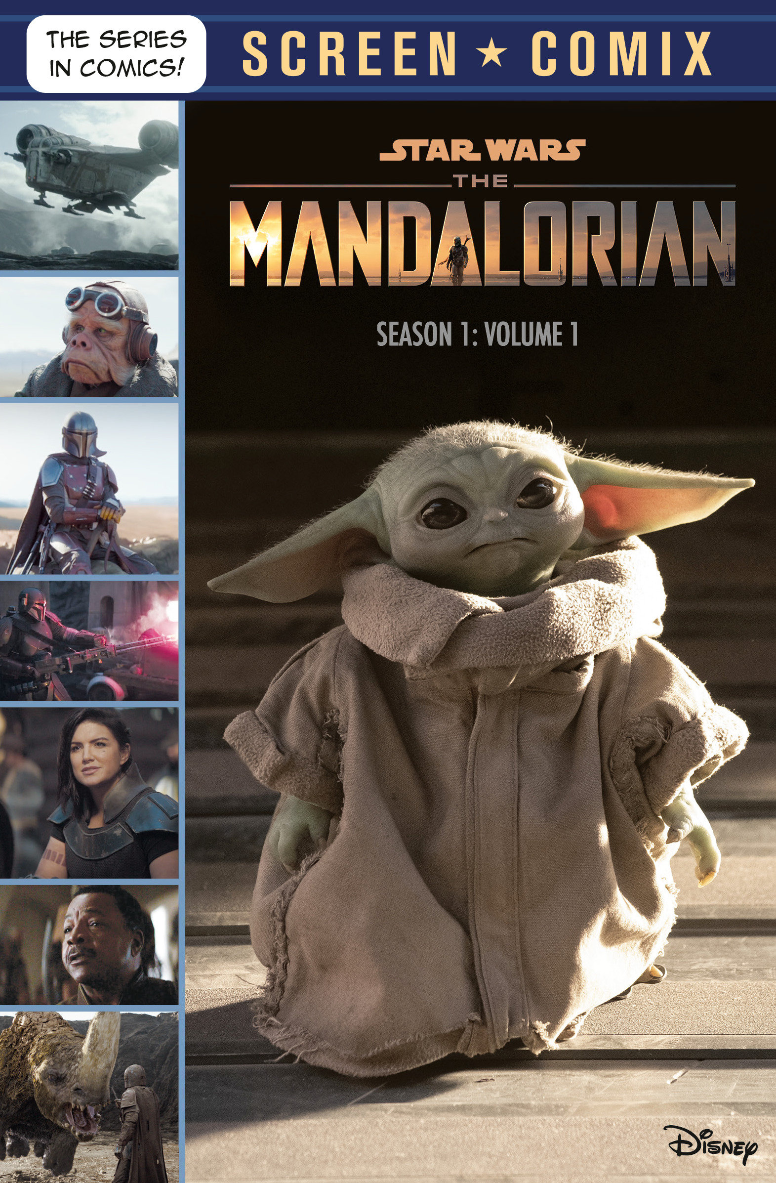 Screen Comix: The Mandalorian: Season 1 Volume 1 (26.01.2021)