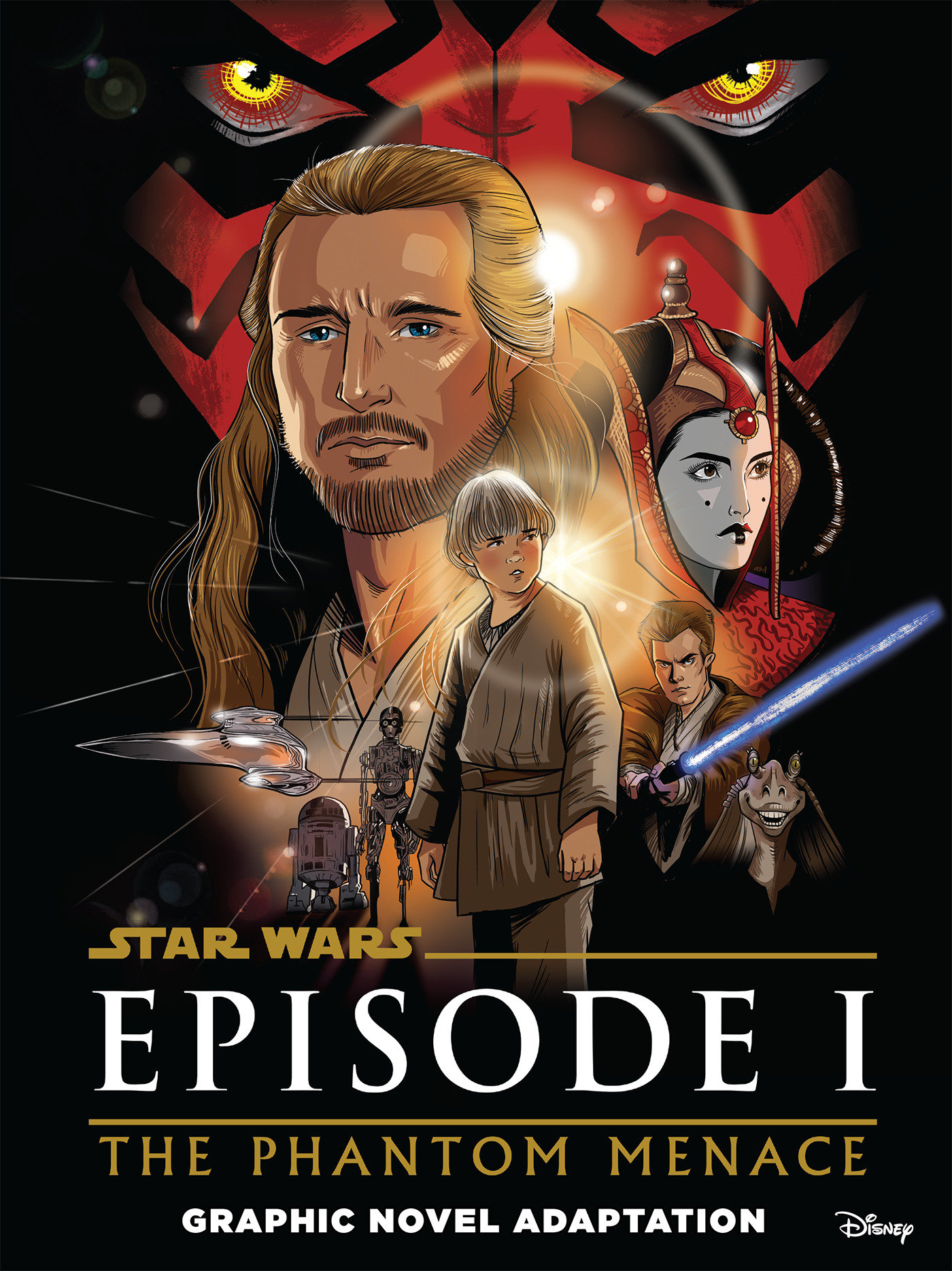 The Phantom Menace - Graphic Novel Adaptation (09.02.2021)
