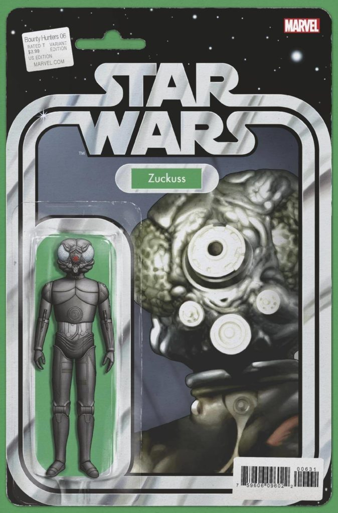 "Bounty Hunters #6 (""Zuckuss"" Action Figure Variant Cover) (21.10.2020)"