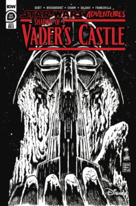 Shadow of Vader's Castle #1 (Francesco Francavilla Black & White Variant Cover) (14.10.2020)