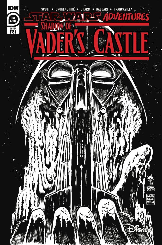 Shadow of Vader's Castle #1 (Francesco Francavilla Black & White Variant Cover) (14.10.2020)