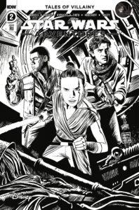 Star Wars Adventures #2 (Francesco Francavilla Black & White Variant Cover) (21.10.2020)