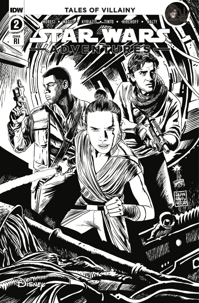 Star Wars Adventures #2 (Francesco Francavilla Black & White Variant Cover) (21.10.2020)