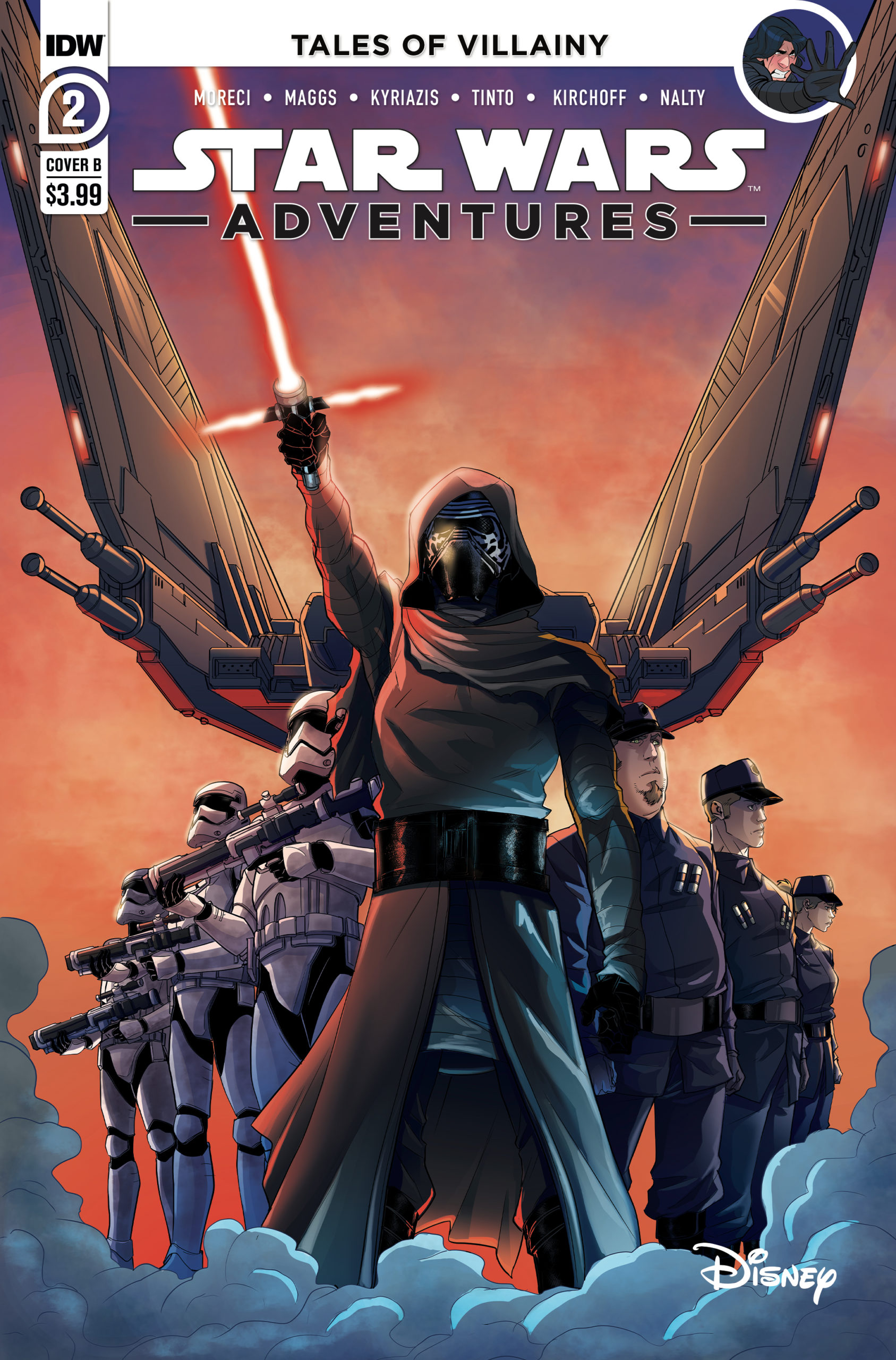 Star Wars Adventures #2 (Cover B by Davide Tinto) (25.11.2020)