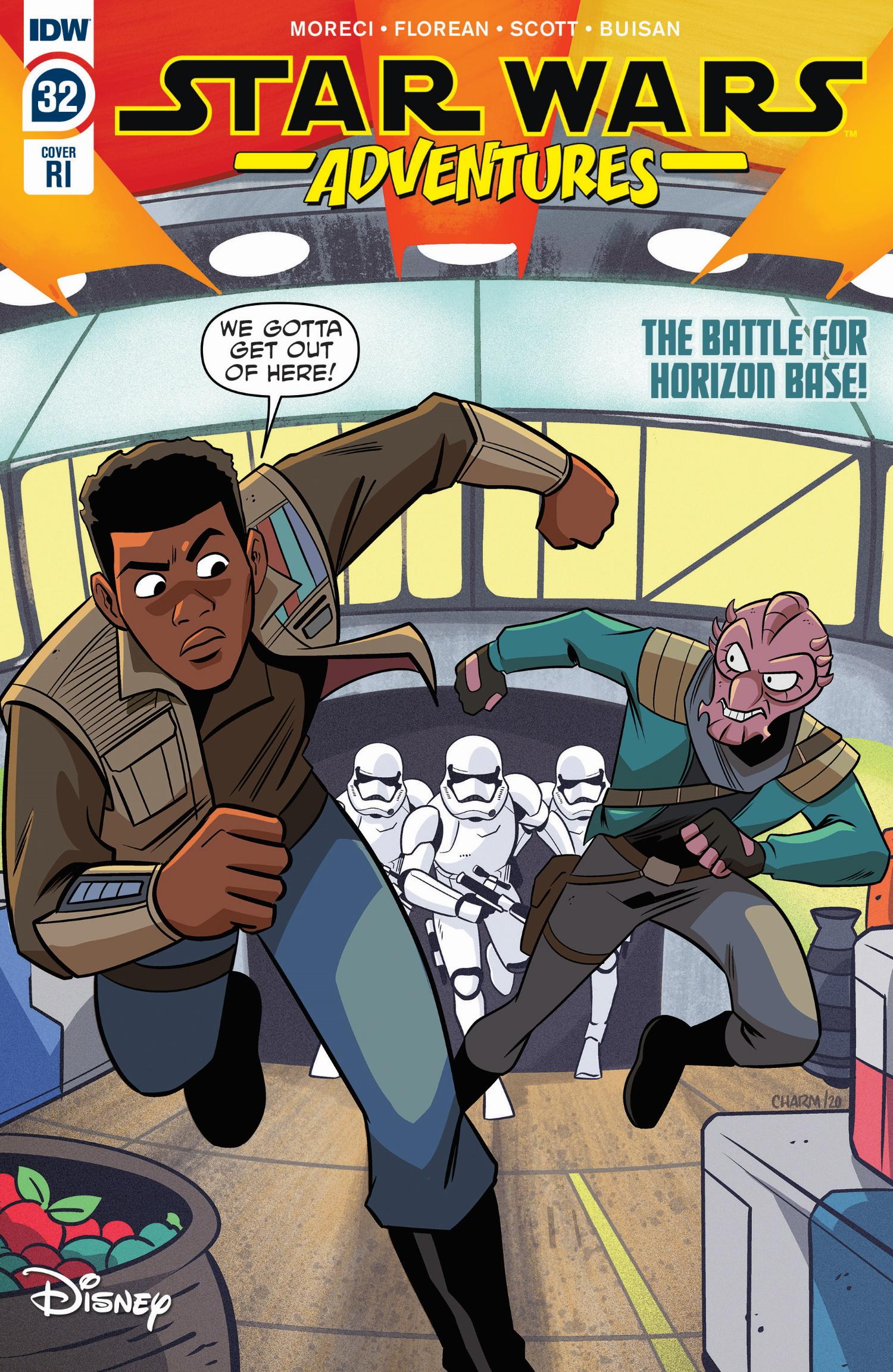 Star Wars Adventures #32 (Derek Charm Variant Cover) (15.07.2020)