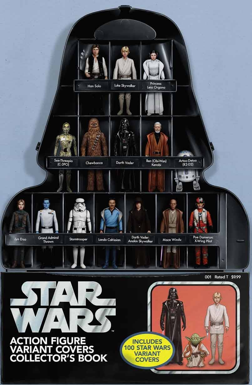 Star Wars: Action Figure Variant Covers Collector's Book (John Tyler Christopher Variant Cover) (12.08.2020)
