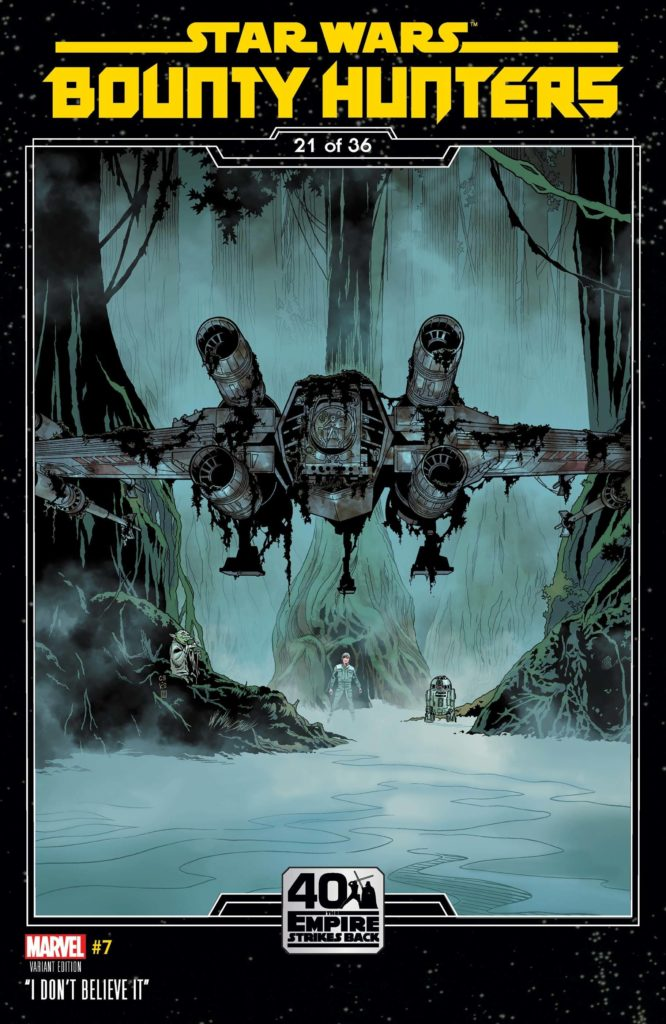 Bounty Hunters #7 (Chris Sprouse The Empire Strikes Back Variant Cover 21 of 36) (18.11.2020)