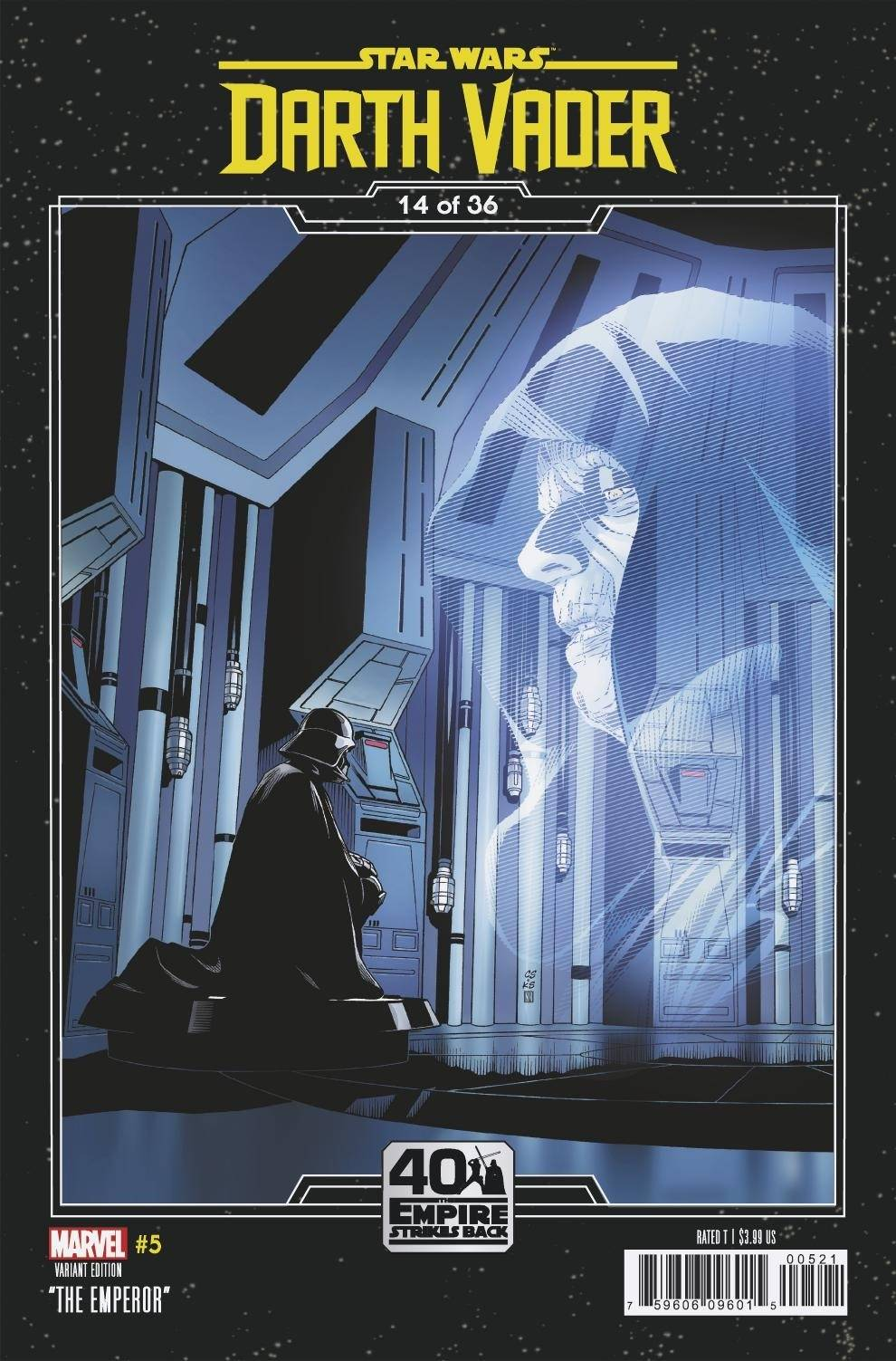 Darth Vader #5 (Chris Sprouse The Empire Strikes Back Variant Cover 14 of 36) (16.09.2020)