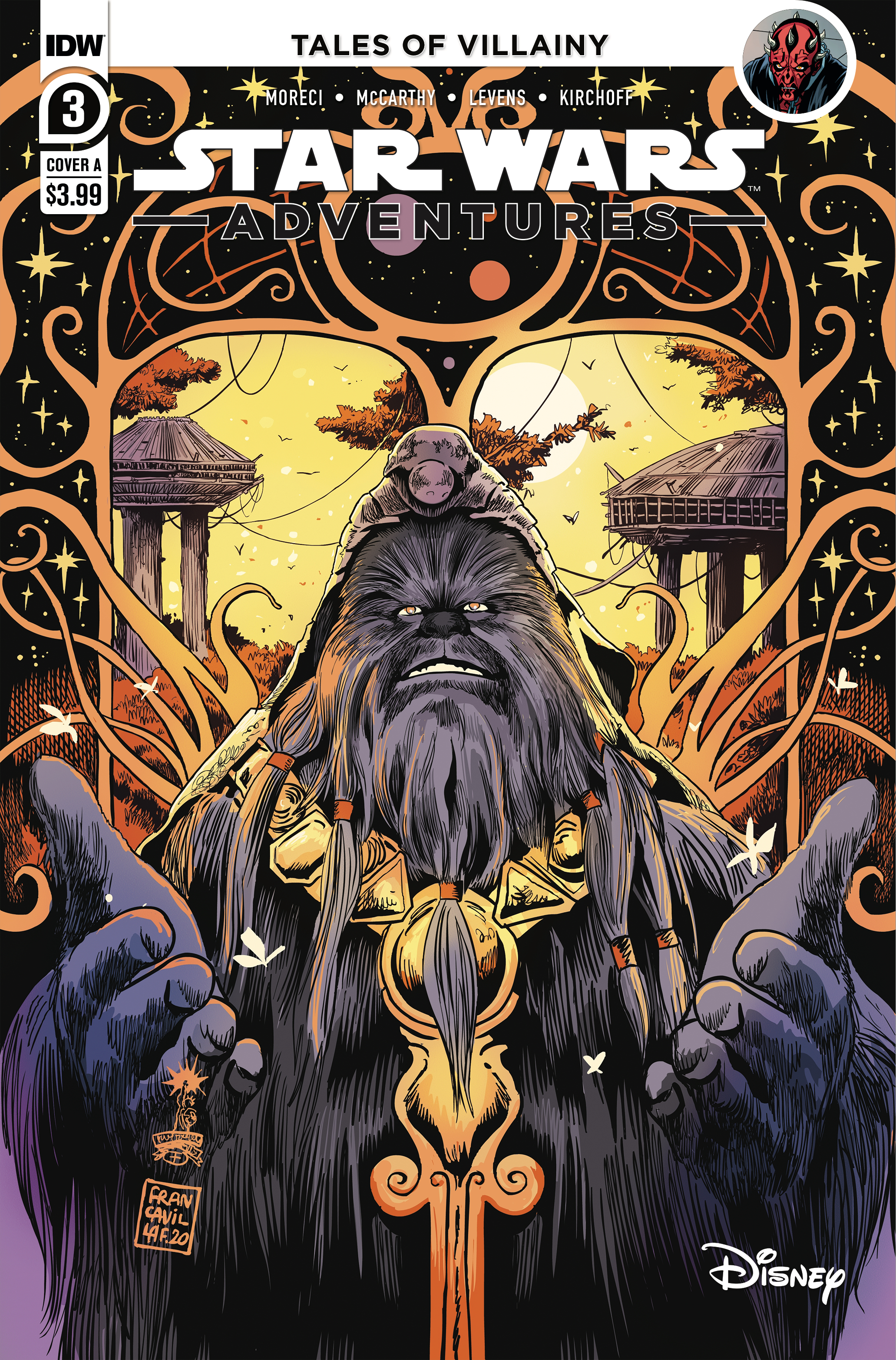 Star Wars Adventures #3 (Cover A by Francesco Francavilla) (25.11.2020)