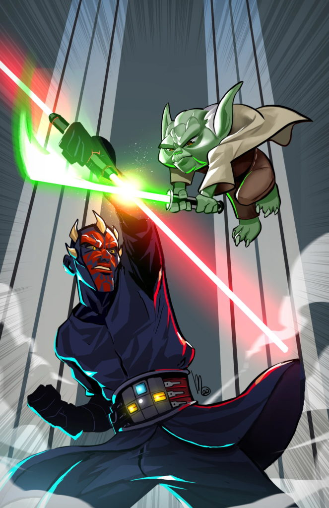 The Clone Wars - Battle Tales #4 (Mel Milton Scott's Collectables Virgin Variant Cover) (19.08.2020)