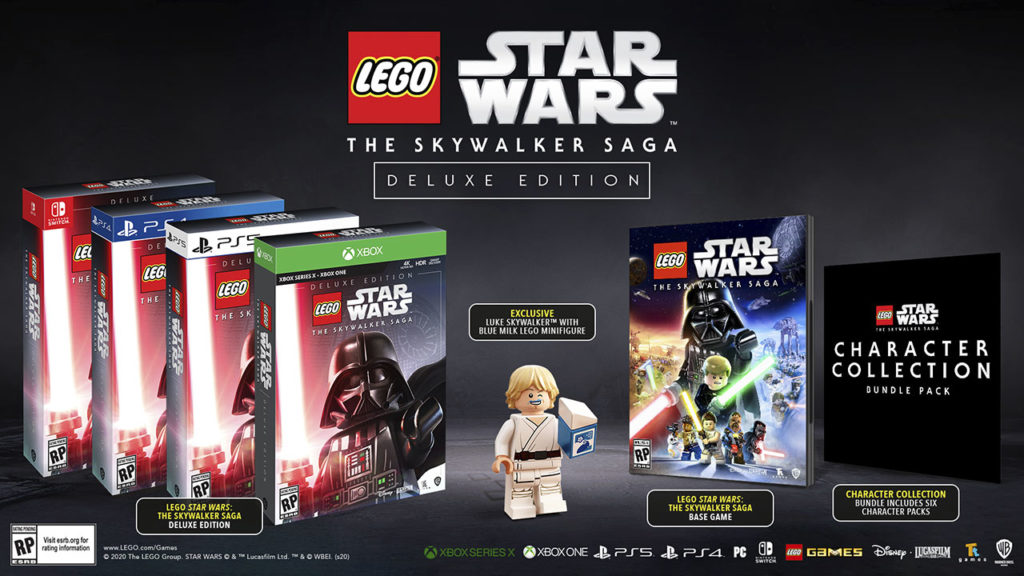 LEGO Star Wars: The Skywalker Saga - Inhalte der Deluxe Edition