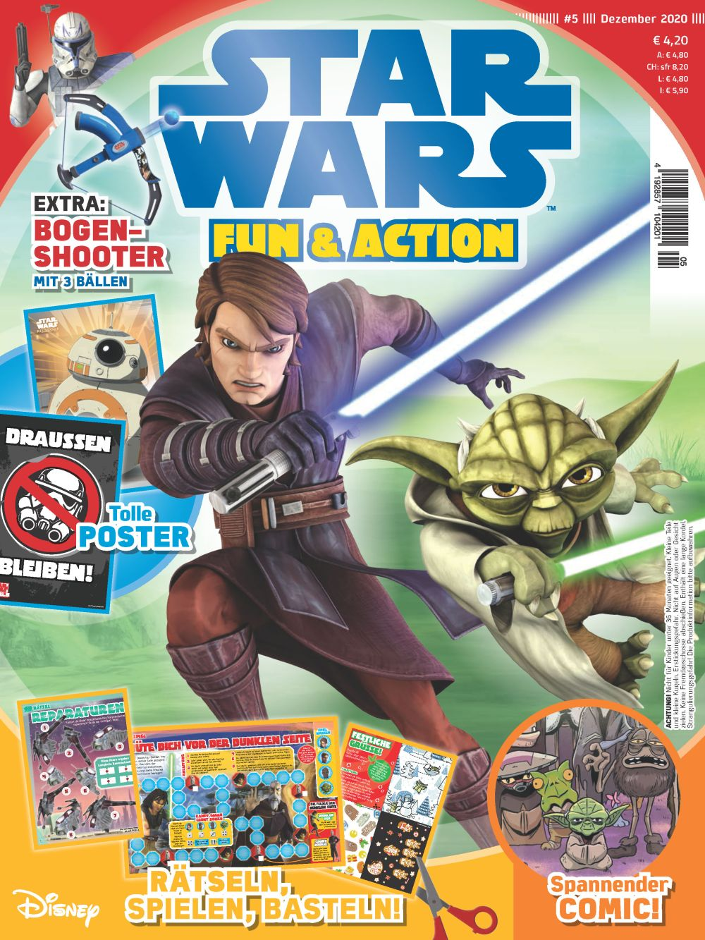 Star Wars Fun & Action #5 (25.11.2020)