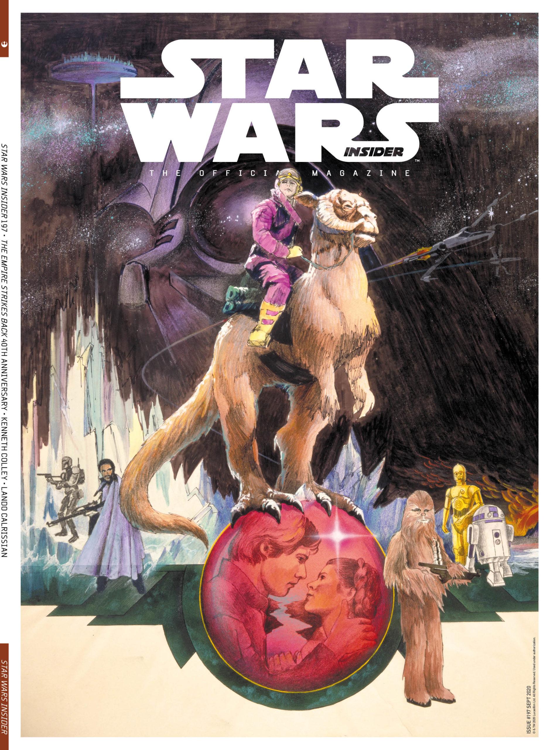 Star Wars Insider #197 (Subscriber Cover) (22.09.2020)