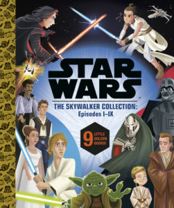 The Skywalker Collection: Episodes I-IX - 9 Little Golden Books (15.06.2021)
