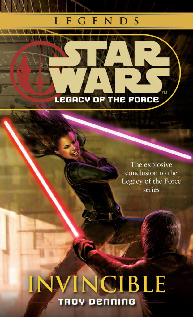 Star Wars Legends: Legacy of the Force 9: Invincible (November 2020)