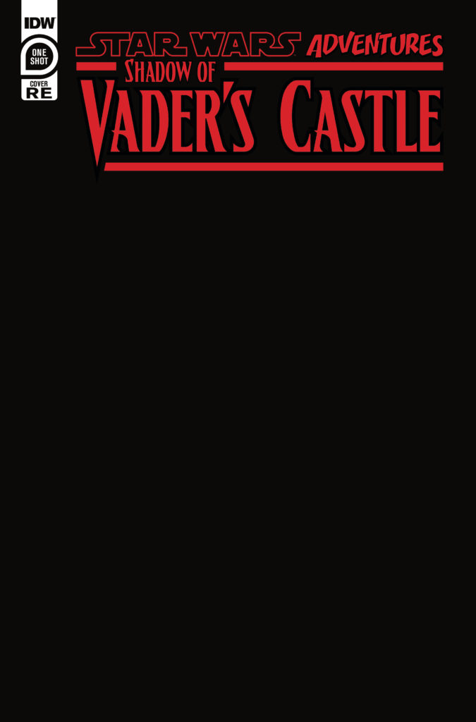 Shadow of Vader's Castle (Black Blank Variant Cover) (04.11.2020)