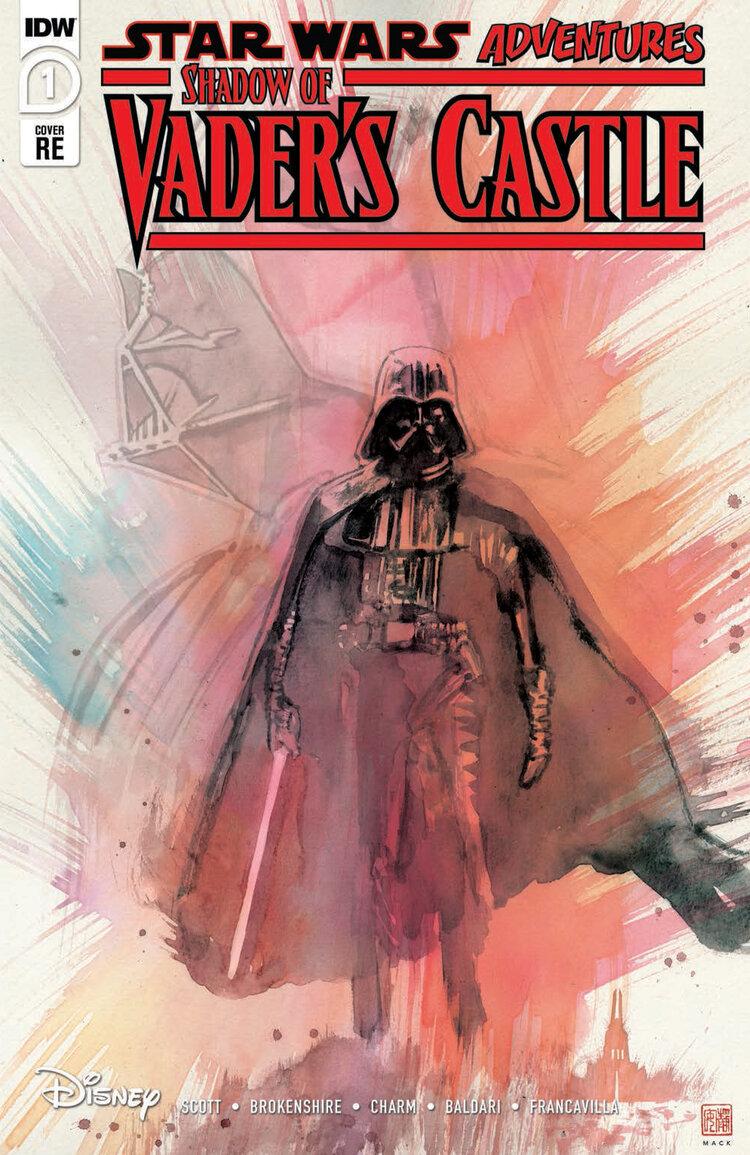 Shadow of Vader's Castle (David Mack Scorpion Comics Variant Cover) (04.11.2020)