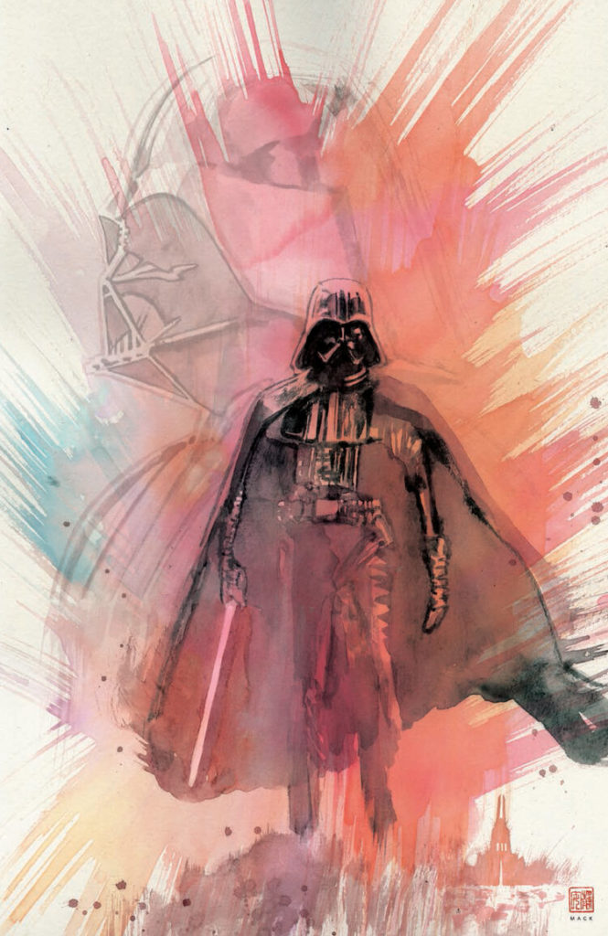 Shadow of Vader's Castle (David Mack Scorpion Comics Virgin Variant Cover) (04.11.2020)