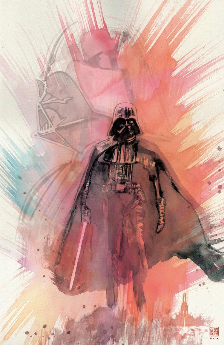 Shadow of Vader's Castle (David Mack Scorpion Comics Virgin Variant Cover) (04.11.2020)