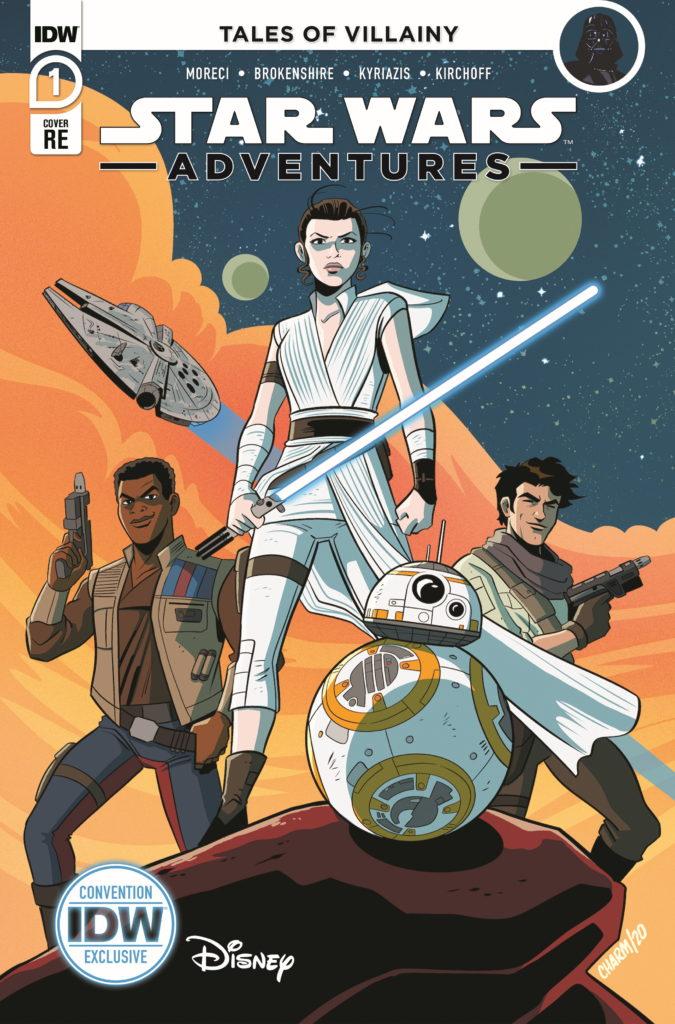 Star Wars Adventures #1 (Derek Charm NYCC Variant Cover) (Oktober 2020)