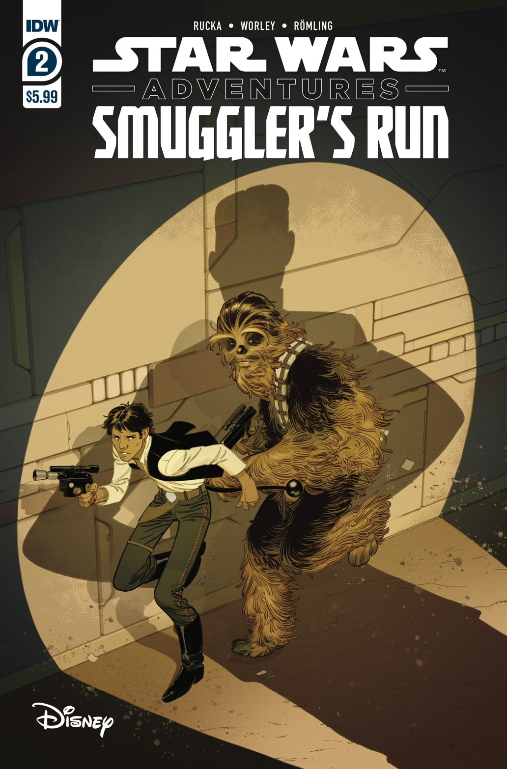 Star Wars Adventures: Smuggler's Run #2 (20.01.2021)